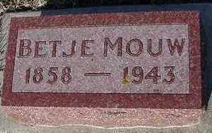 MOUW, BETJE - Sioux County, Iowa | BETJE MOUW