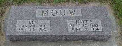 MOUW, HATTIE - Sioux County, Iowa | HATTIE MOUW