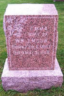 MOUW, EMMA (MRS. WM. J.) - Sioux County, Iowa | EMMA (MRS. WM. J.) MOUW