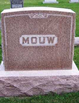 MOUW, FAMILY HEADSTONE - Sioux County, Iowa | FAMILY HEADSTONE MOUW