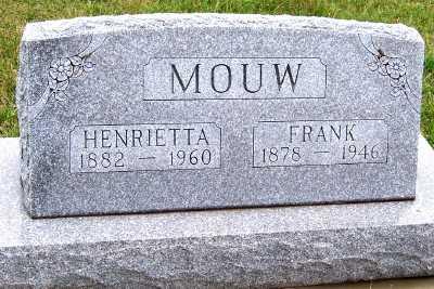 MOUW, HENRIETTA - Sioux County, Iowa | HENRIETTA MOUW