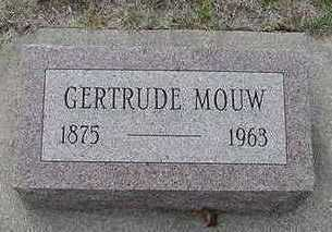 MOUW, GERTRUDE  D.1963 - Sioux County, Iowa | GERTRUDE  D.1963 MOUW