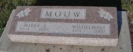 MOUW, HARRY J. - Sioux County, Iowa | HARRY J. MOUW