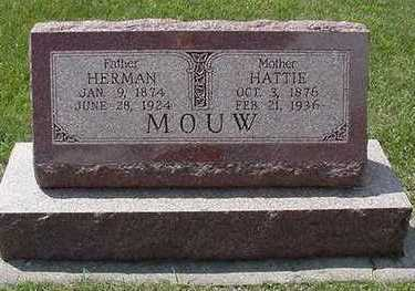 MOUW, HERMAN - Sioux County, Iowa | HERMAN MOUW
