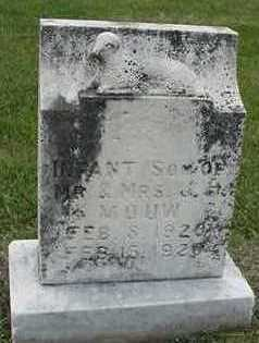 MOUW, INFANT SON - Sioux County, Iowa | INFANT SON MOUW