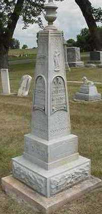 MOUW, JAN  D.1882 - Sioux County, Iowa   JAN  D.1882 MOUW