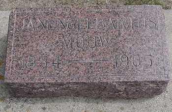 MOUW, JANENGELBARTUS - Sioux County, Iowa   JANENGELBARTUS MOUW