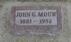 MOUW, JOHN G.  D.1952 - Sioux County, Iowa | JOHN G.  D.1952 MOUW