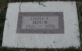MOUW, LEONA E. - Sioux County, Iowa | LEONA E. MOUW