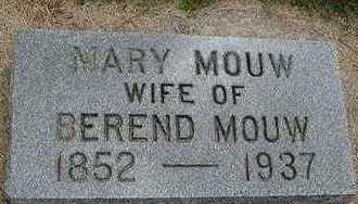 MOUW, MARY - Sioux County, Iowa | MARY MOUW
