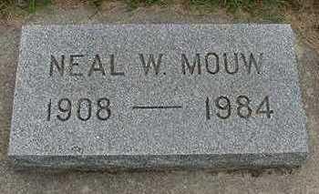 MOUW, NEAL W. - Sioux County, Iowa | NEAL W. MOUW