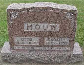 MOUW, SARAH E.  D.1938 - Sioux County, Iowa | SARAH E.  D.1938 MOUW