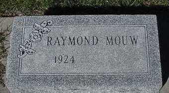 MOUW, RAYMOND - Sioux County, Iowa | RAYMOND MOUW
