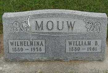 MOUW, WILLIAM B. - Sioux County, Iowa   WILLIAM B. MOUW