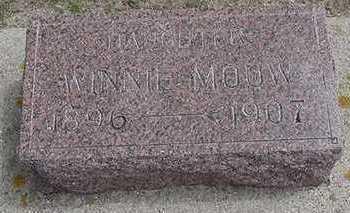 MOUW, WINNIE - Sioux County, Iowa | WINNIE MOUW
