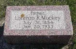MUCKEY, LORENZO - Sioux County, Iowa | LORENZO MUCKEY