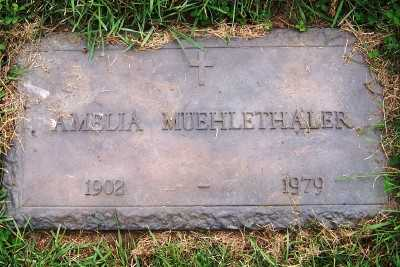 MUEHLETHALER, AMELIA - Sioux County, Iowa   AMELIA MUEHLETHALER