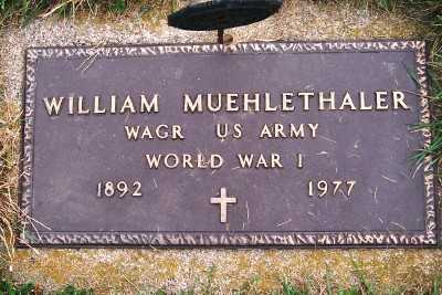 MUEHLETHALER, WILLIAM - Sioux County, Iowa | WILLIAM MUEHLETHALER