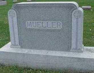 MUELLER, HEADSTONE - Sioux County, Iowa   HEADSTONE MUELLER