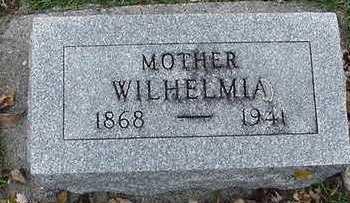 MUELLER, WILHELMINA - Sioux County, Iowa   WILHELMINA MUELLER
