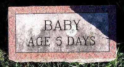 MUILENBURG, BABY OF J.P. - Sioux County, Iowa | BABY OF J.P. MUILENBURG