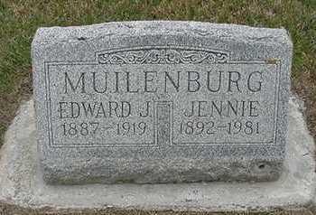 MUILENBURG, EDWARD - Sioux County, Iowa | EDWARD MUILENBURG