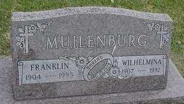MUILENBURG, WILHELMINA - Sioux County, Iowa | WILHELMINA MUILENBURG