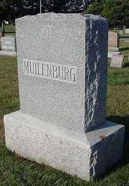 MUILENBURG, HEADSTONE - Sioux County, Iowa   HEADSTONE MUILENBURG