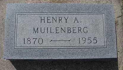 MUILENBURG, HENRY - Sioux County, Iowa | HENRY MUILENBURG
