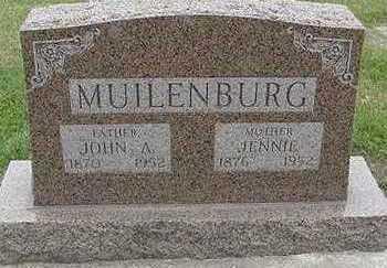 MUILENBURG, JENNIE (MRS. JOHN A.) - Sioux County, Iowa | JENNIE (MRS. JOHN A.) MUILENBURG