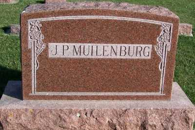 MUILENBURG, J. P. FAMILY HEADSTONE - Sioux County, Iowa | J. P. FAMILY HEADSTONE MUILENBURG