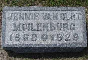 VANOLST MUILENBURG, JENNIE - Sioux County, Iowa | JENNIE VANOLST MUILENBURG