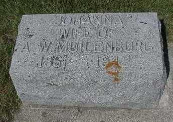 MUILENBURG, JOHANNA - Sioux County, Iowa | JOHANNA MUILENBURG