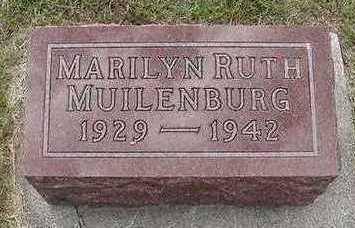 MUILENBURG, MARILYN RUTH - Sioux County, Iowa   MARILYN RUTH MUILENBURG