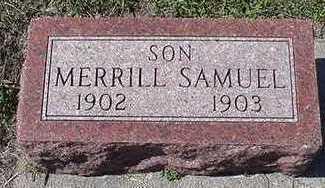 MUILENBURG, MERRILL SAMUEL - Sioux County, Iowa | MERRILL SAMUEL MUILENBURG
