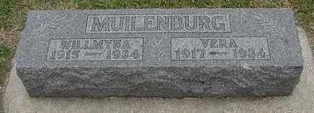 MUILENBURG, WILLMYNA - Sioux County, Iowa | WILLMYNA MUILENBURG
