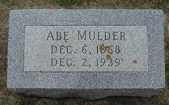 MULDER, ABE - Sioux County, Iowa | ABE MULDER