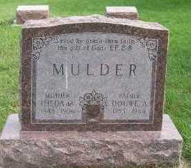 MULDER, DOUWE A. - Sioux County, Iowa | DOUWE A. MULDER