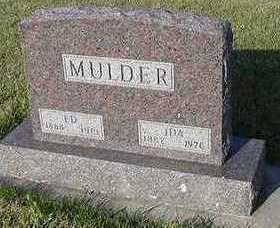 MULDER, IDA (MRS. ED) - Sioux County, Iowa | IDA (MRS. ED) MULDER