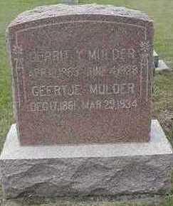 MULDER, GEERTJE - Sioux County, Iowa | GEERTJE MULDER