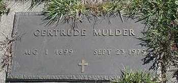 MULDER, GERTRUDE  D.1979 - Sioux County, Iowa | GERTRUDE  D.1979 MULDER