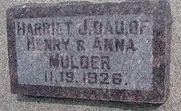 MULDER, HARRIET - Sioux County, Iowa | HARRIET MULDER