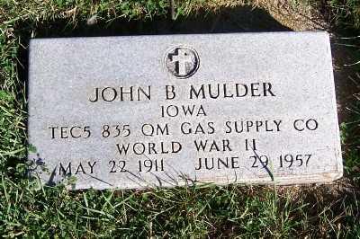 MULDER, JOHN B. - Sioux County, Iowa | JOHN B. MULDER