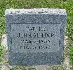 MULDER, JOHN  D.1933 - Sioux County, Iowa | JOHN  D.1933 MULDER