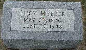 MULDER, LUCY - Sioux County, Iowa | LUCY MULDER