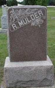 MULDER, R. - Sioux County, Iowa | R. MULDER