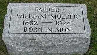 MULDER, WILLIAM  D.1924 - Sioux County, Iowa | WILLIAM  D.1924 MULDER
