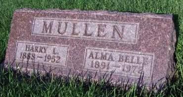 MULLEN, ALMA BELLE - Sioux County, Iowa   ALMA BELLE MULLEN