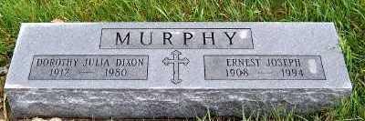 MURPHY, ERNEST JOSEPH - Sioux County, Iowa | ERNEST JOSEPH MURPHY