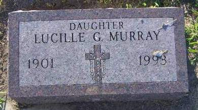 MURRAY, LUCILLE G. - Sioux County, Iowa | LUCILLE G. MURRAY